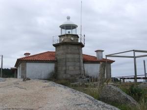Postal: Faro en la Isla de Arosa (Pontevedra, España)