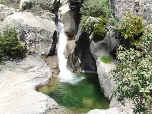 Cascada del río Manzanares (La Pedriza, Madrid)
