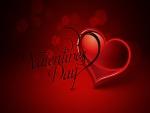 Día de San Valentín con un corazón