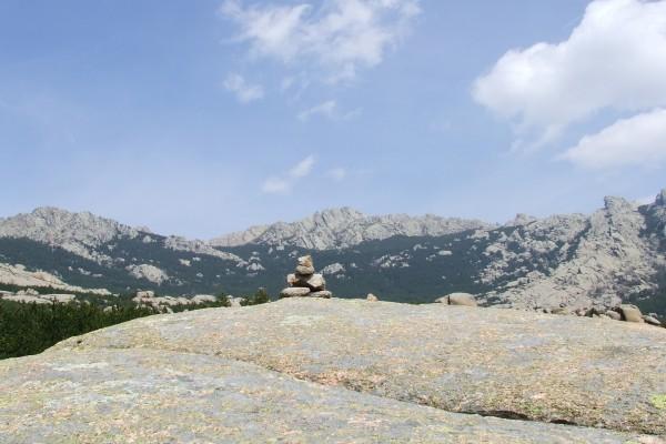 Piedras en La Pedriza