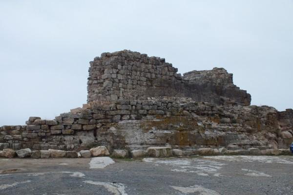 Unas ruinas