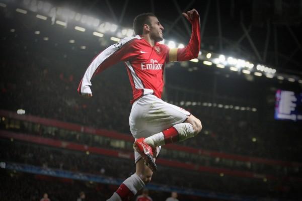 Cesc Fábregas en el Arsenal F.C.