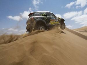 Coche de Nani Roma, ganador del Dakar 2014