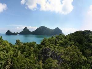 Postal: Islas en el mar