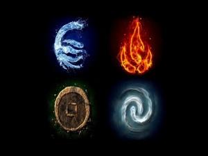 Agua, fuego, tierra y aire