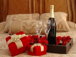 Noche romántica en San Valentín