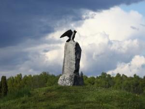 Águila de piedra