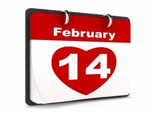 Postal: 14 de Febrero Día de San Valentín