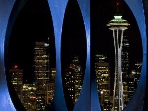 Postal: La noche de Seattle