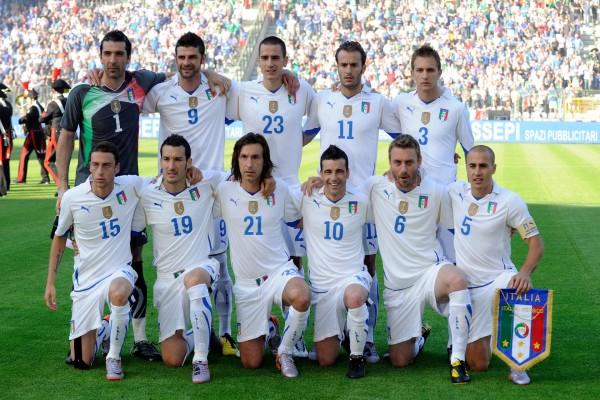 Jugadores de la Selección de fútbol de Italia