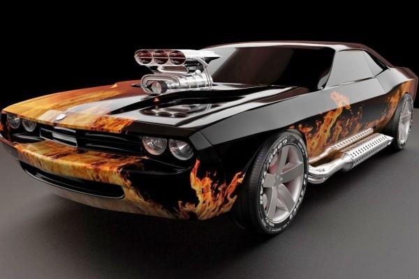 Dodge Challenger tuneado