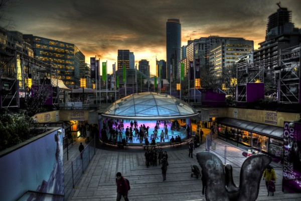 Robson Square, Vancouver