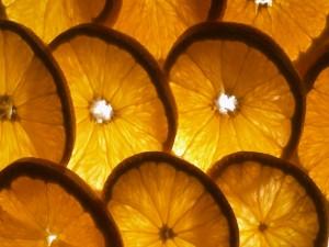Postal: ¿Rodajas de naranja o limón?