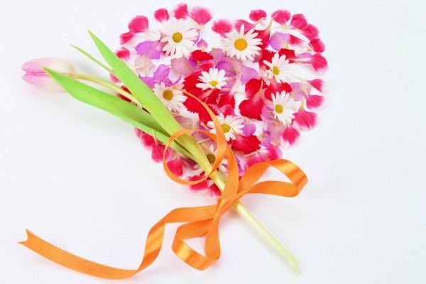 Regala flores por San Valentín