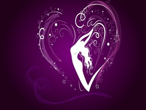 Postal: Imagen de amor para San Valentín