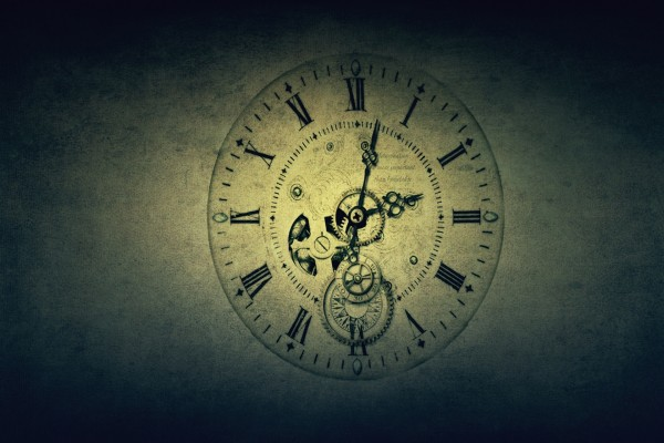 Dibujo de un reloj