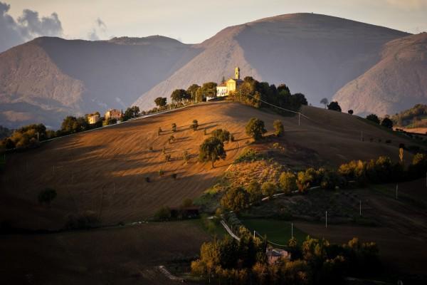Casas en las colinas
