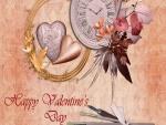 """Bonita tarjeta """"Feliz Día de San Valentín"""""""