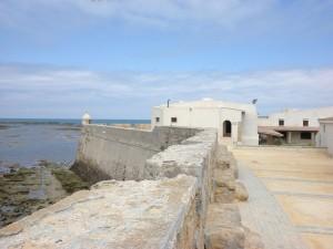 Castillo de Santa Catalina en Cádiz, España