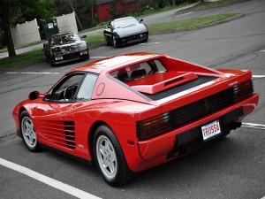 Postal: Ferrari Testarossa