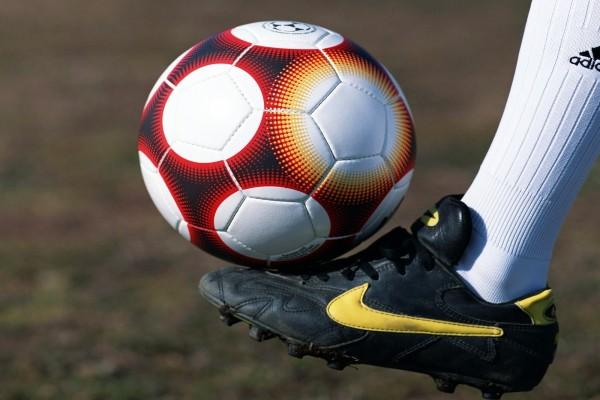 Balón en el pie