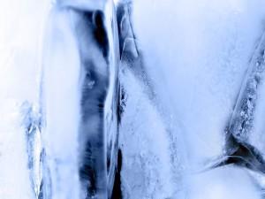 Burbujas en el hielo