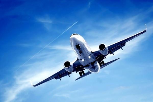 Avión descendiendo