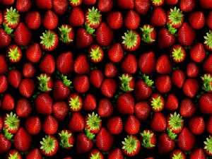 Fresas en su punto