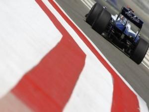 Un F1 en el circúito