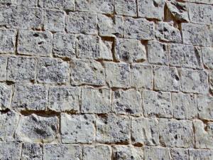 Postal: Muro de piedra