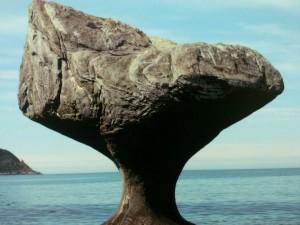 Postal: La erosión del mar