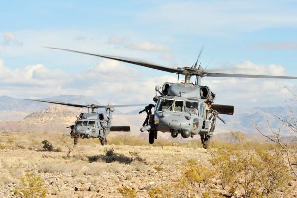 Helicópteros a ras de suelo