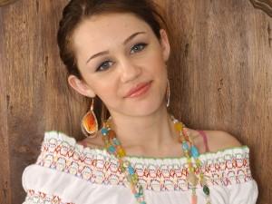Postal: Miley Cyrus de niña