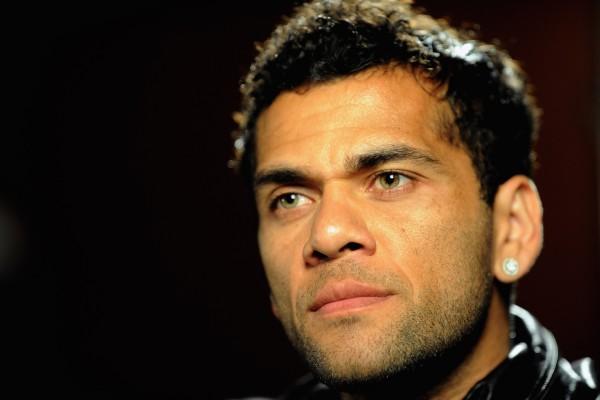 El futbolista Dani Alves