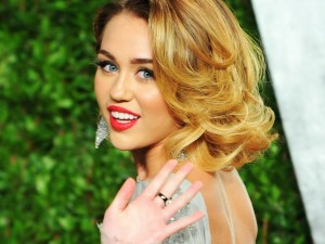 Postal: La guapa Miley Cyrus
