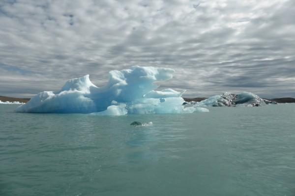 Iceberg visto desde el barco
