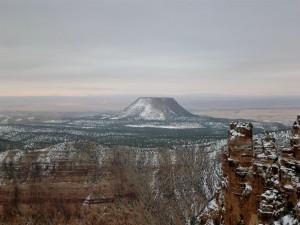 Primeras nieves en el Gran Cañón