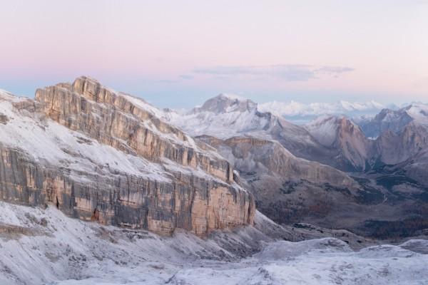Invierno en las montañas