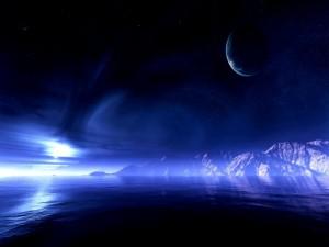 Noche en otro planeta