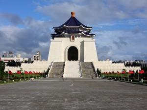 El Salón Conmemorativo Nacional de Chiang Kai-shek en Taipei (Taiwán)