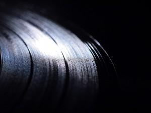 Postal: Disco de vinilo