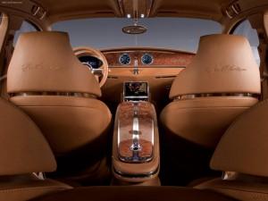 Interior de un Bugatti Galibier