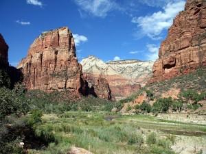 Postal: Parque Nacional Zion (Utah, EE.UU)