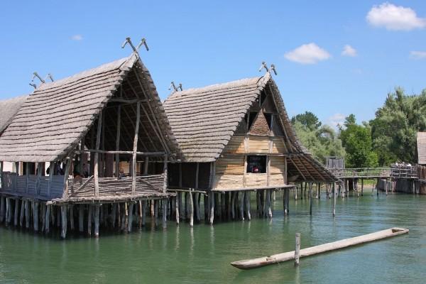Casas de zancos en Unteruhldingen