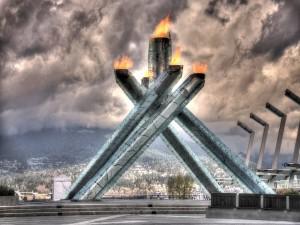 La llama Olímpica de Vancouver