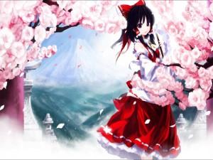 "Hakurei Reimu personaje de ""Touhou Project"""