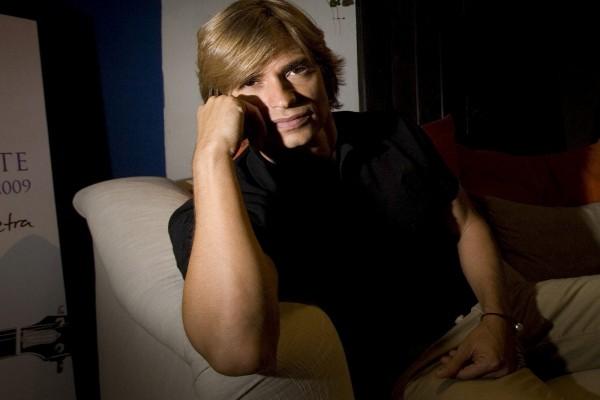 El cantante Carlos Baute