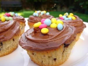 Postal: Cupcakes para una fiesta infantil