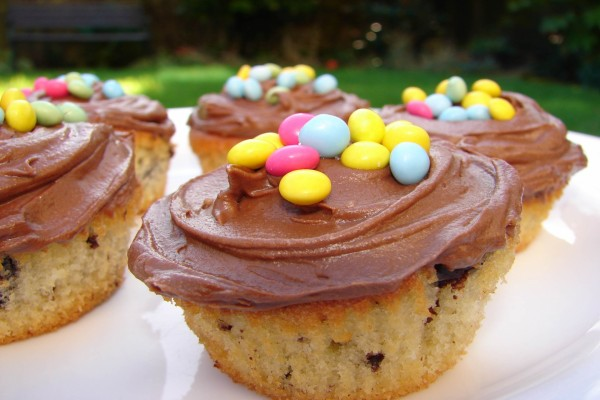Cupcakes para una fiesta infantil