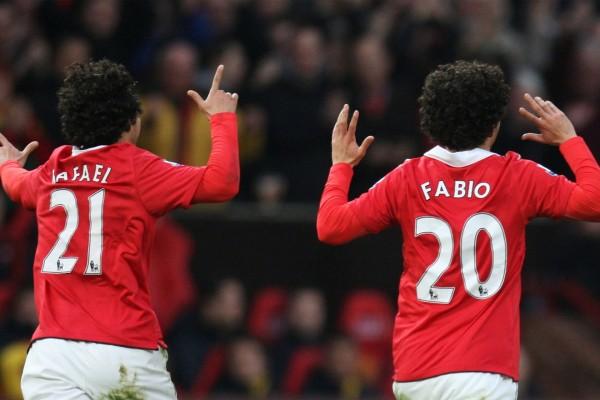 """""""Fabio y Rafael"""" los gemelos del Manchester United"""